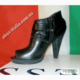 Ботильоны кожаные женские Guess оригинал Италия