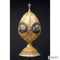 Яйцо Фаберже - Представительский подарок Церкви, элитные сувениры, памятные подарки, предс