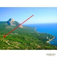 Шикарный участок с видом на море, ЮБК, бухта Ласпи 10 соток для дома вашей мечты или бизне