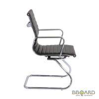 Конференц-кресло офисное АЛАБАМА X (ALABAMA X) черное, белое Украина