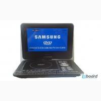Переносной портативный DVD плеер с FM приемником, с телевизором Samsung, LG, O