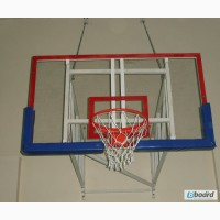 Баскетбольный щит размером 1800х1050 мм, оргстекло