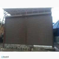Защитные роллеты, роллетные ворота, рольставни в Харькове