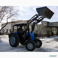 Фронтальний навантажувач на трактор METAL-FACH (джойстик)