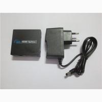 Сплиттер HDMI (1 in -gt; 2 out) активный, 2 порта разветвитель