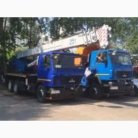 Продажа новых автокранов КС-55727-С-12 Машека 25 тонн, стрела 28 метров