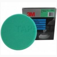 3М Многоразовый поролоновый полировальник, 150 мм, зеленый