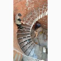 Полукруглые, радиусные, винтовые лестницы.Броневик Днепр