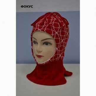 Продам вязаные шлемы для детей