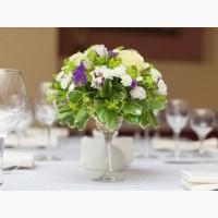 Оформление свадеб и декор свадеб живыми цветами в Одессе