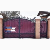 Кованые ворота, калитки, цена