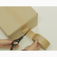 Бумажный крафт скотч упаковочный 48 мм х 50 м, Viskom