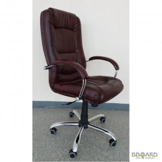 Компьютерное кресло Марсель хром, мадрас