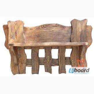 Вешалки из дерева под старину мебель от производителя