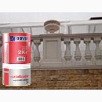Эмаль-Лак полиуретановая ISAVAL 2КР 0.75 л - для защиты и декора металла, камня, бетона