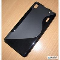 Чехол-бампер TPU для Lenovo K3 Note / A7000. Серия: S-Line