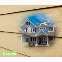 Фасад дома - фиброцементный сайдинг Cedar - элитные материалы