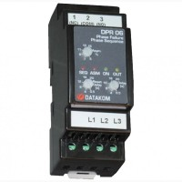 DATAKOM DPR-06 Контроллер защиты от асимметрии напряжения фаз, 260-520В (Фаза-Фаза)