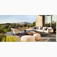 Итальянская уличная мебель: садовые столы, стулья, диваны, кресла
