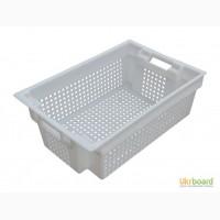 Ящик пластиковый 600 х 400 для колбасных молочных изделий мясных изделий рыбной продукции