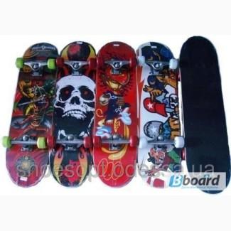 Спортивный скейтборд подростковый 79х20 см