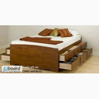 Стильная двуспальная кровать VEGAS (новинка)
