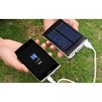 Солнечное зарядное устройство Power Bank 20000mAh