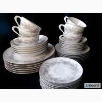 Японский фарфор старой работы Sango (комплект посуды)