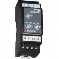 DATAKOM DPR-05 Контроллер защиты от асимметрии напряжения фаз, 150-300В (Фаза-Нейтраль)
