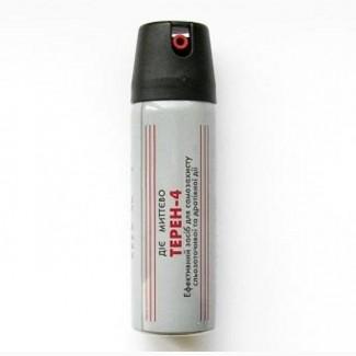 Газовый баллон Терен-4. Возьмите на прогулку средство защиты. Надежно. Эффективно