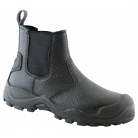 Ботинки кожаные мод.METALURG 01
