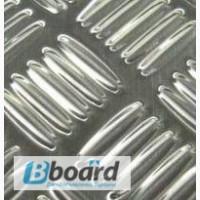 Алюминиевый лист рифленый квинтет 2мм ГОСТ 1050 АН24 марка АД0