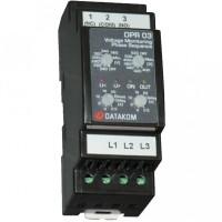 DATAKOM DPR-03 Контроллер защиты по напряжению, 260-520В (Фаза-Фаза)