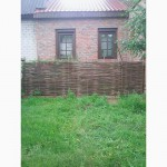 Украинский тын, плетеный забор из лозы