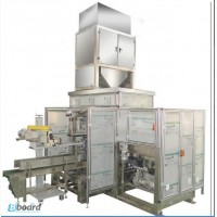 Весовой автомат для упаковки сыпучих продуктов в готовые открытые мешки 022.50.01