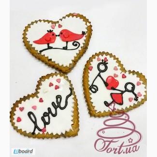 Пряники на заказ на 8 Марта и День св. Валентина