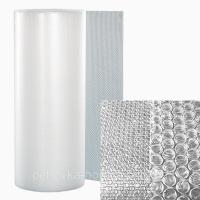 Воздушно-пузырчатая пленка Д45, ширина 1.1 м (рулон 50м), диаметр пузырька 10 мм