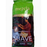 Кофе Hacendado Mezcla Sabor Suave зерновой 1кг