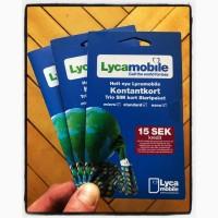 Шведские стартовые пакеты Lycamobile
