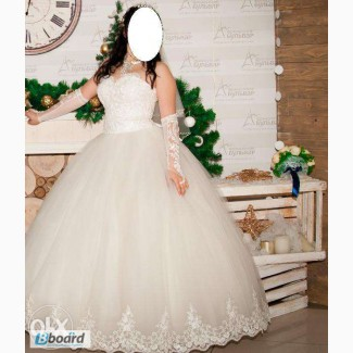 Свадебное платье (кольца и перчатки бесплатно!)
