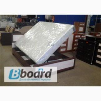 Кровать с матрасом и подъемным механизмом недорого