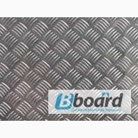 Алюминиевый лист рифленый квинтет 2, 5мм 2, 5х1000х2000мм ГОСТ 1050 АН24 марка АДО
