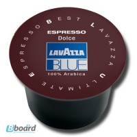 Кофе в капсулах Lavazza Blue Espresso Dolce 100 шт опт от 6 уп