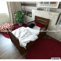 Дитяче ліжко Софі з справжнього дерева