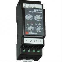 DATAKOM DPR-02 Контроллер защиты по напряжению, 150-300В (Фаза-Нейтраль)