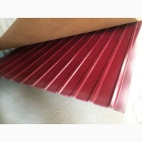 Профлист для забора С 20 RAL 3005 вишневый, бордовый профильный лист для кровли