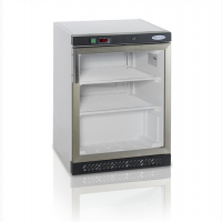 Барный морозильный шкаф со стеклом 120л