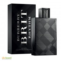 Burberry Brit Rhythm For Men туалетная вода 100 ml. (Бёрберри Брит Рхитхм Фор Мен)