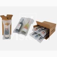 Воздушная упаковка AirPack для защиты бутылок вина