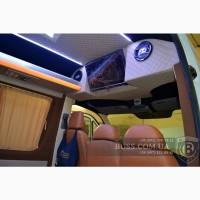 Стационарный телевизор монитор в микроавтобус автобус бус